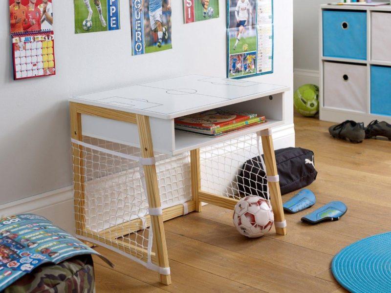 Child's football themed desk