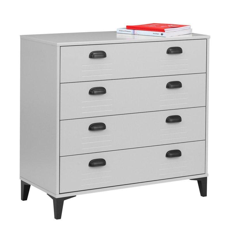 4-drawer locker-themed chest