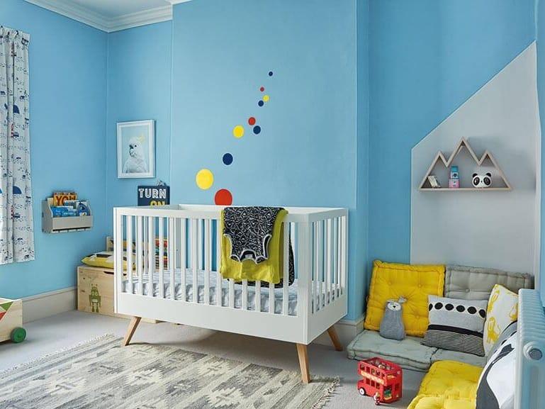 Blue nursery scheme
