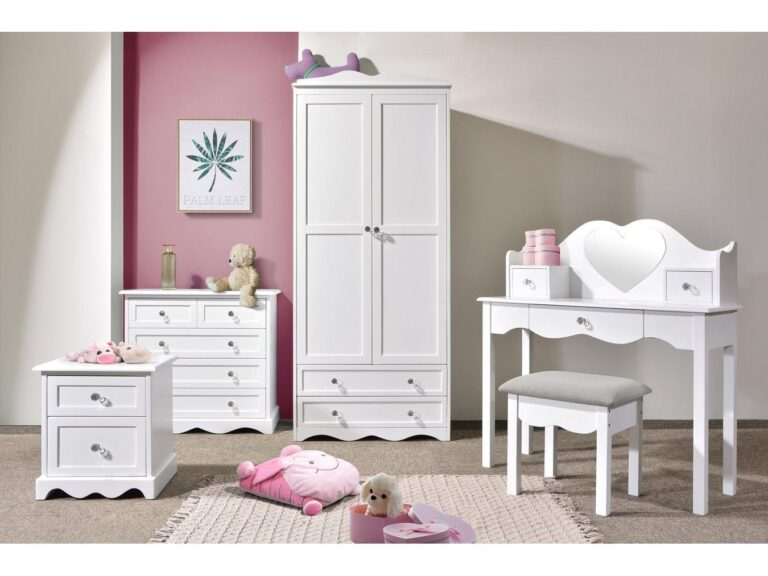 White-painted children's furniture
