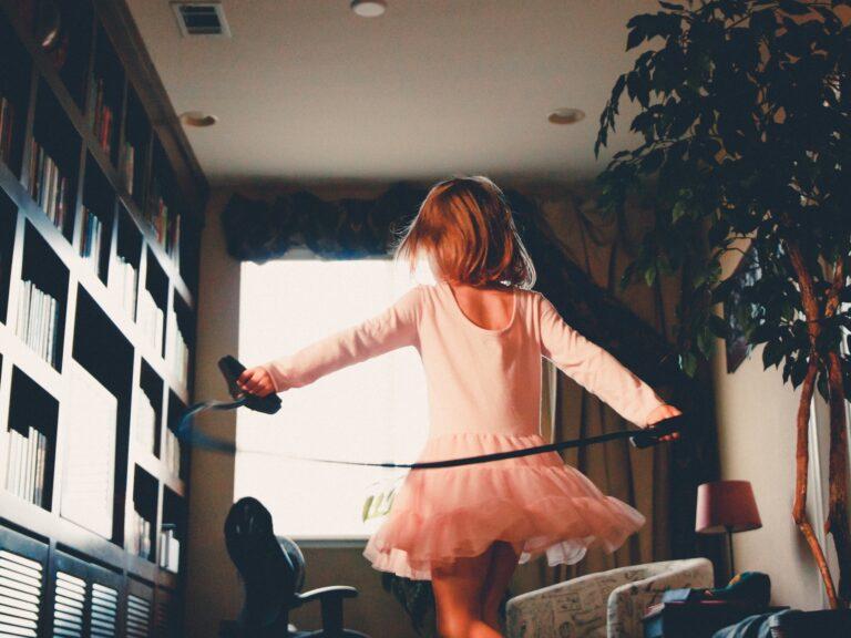 Child dance practice