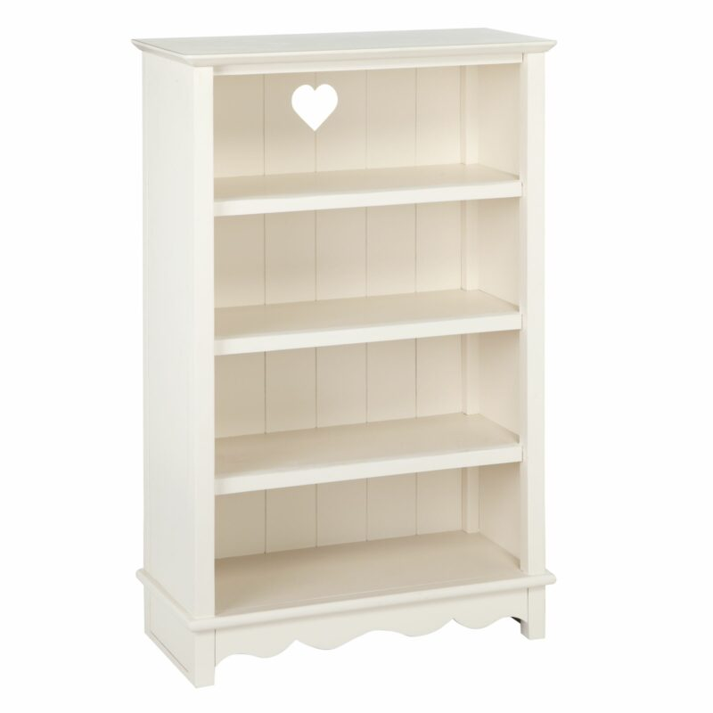 Children's ivory-painted bookcase