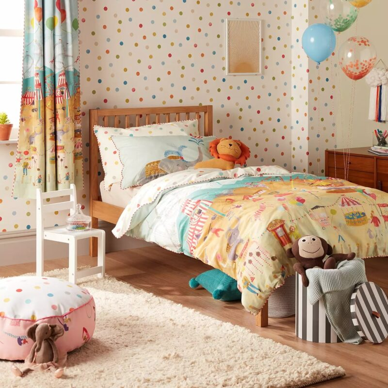 Circus themed bedroom