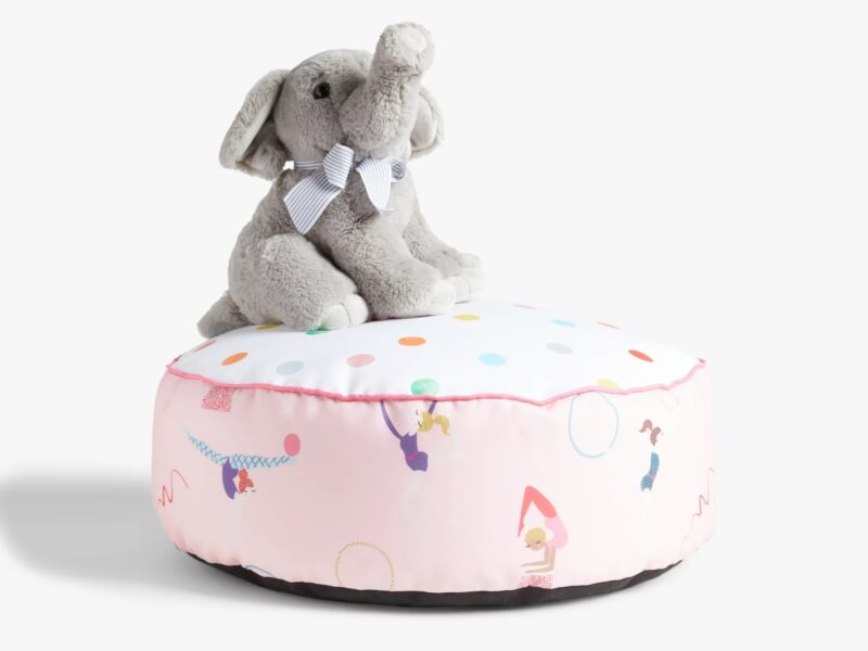 Circus themed pouffe