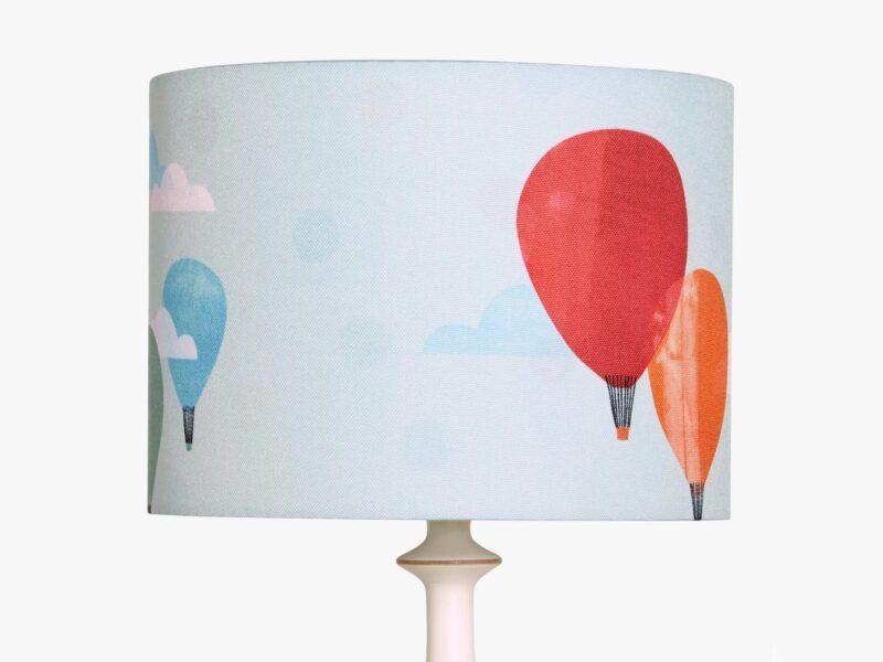 Balloons themed lampshade