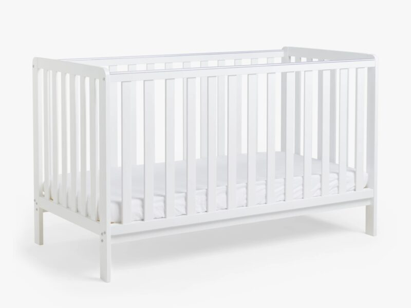 White-painted cot