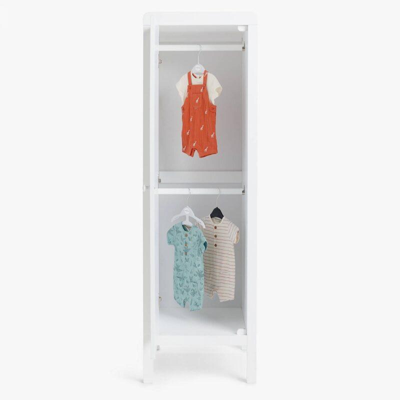 White nursery wardrobe